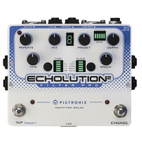 Pigtronix Echolution 2 Filter Pro Multi-Tap Delay