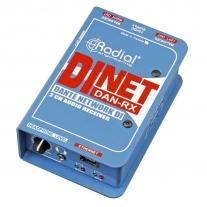 Radial DiNET DAN-RX Dante Network DI