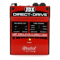 Radial JDX Direct-Drive Amp Simulator/DI