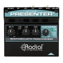 Radial Presenter Audio Presentation Mixer