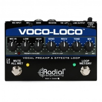 Radial Voco Loco Vocal Preamp Effects Loop