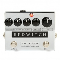 Red Witch Factotum Bass Suboctave Overdrive