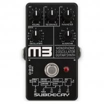 Subdecay M3 Monophonic Synthesizer