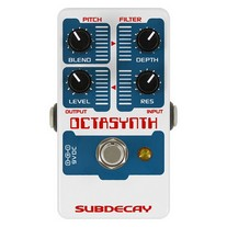 Subdecay Octasynth Octave/Synthesizer