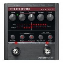 TC-Helicon VoiceTone Correct Vocal Multi-Effects Processor