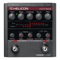 TC-Helicon VoiceTone Correct Vocal Multi-Effects Processor