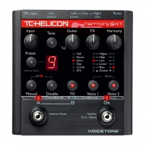 TC-Helicon VoiceTone Harmony-G XT Vocal Multi-Effects Processor