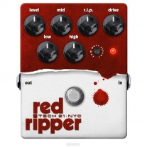 Tech 21 Red Ripper Bass Fuzz