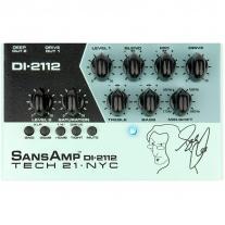 Tech 21 SansAmp DI-2112 Geddy Lee Signature Bass Preamp