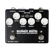 Weehbo Morbid Drive High Gain Distortion