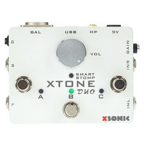 XSonic Xtone Duo Interface/Foot-Controller