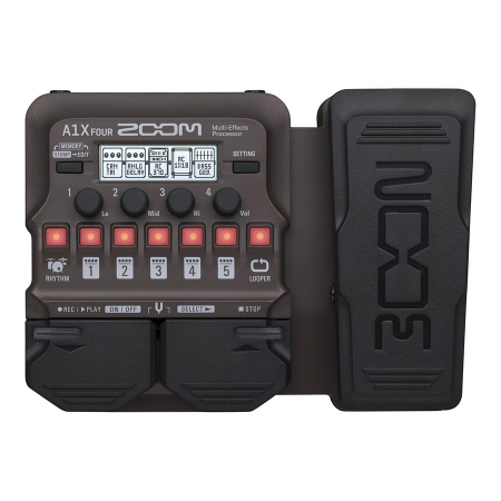 Zoom A1X Four Acoustic Multi-Effects Processor