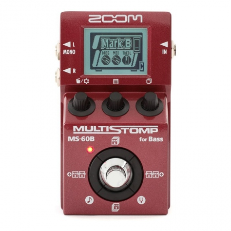 Zoom MS-60B MultiStomp Bass Multi-Effects