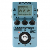 Zoom MS-70CDR MultiStomp Chorus/Delay/Reverb