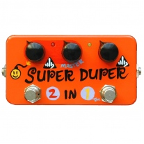 ZVEX Super Duper 2-in-1 Hand Painted Overdrive/Booster